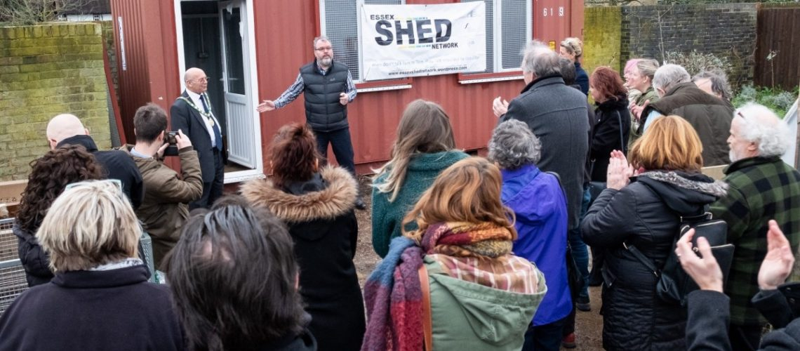 Harlow mens shed opening